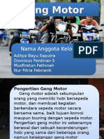 "Power Point ""Geng Motor"""