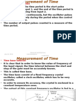 Measurement of Time