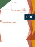 BAB I Ruang Lingkup Biologi - Bag 1.pptx