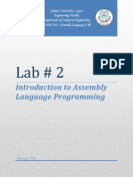 Assembly Lab2