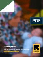 Identify Me July 2016 IRC
