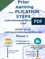 Rpl Application Steps