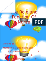 The Role and Function of Nurse