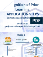 Rpl Application Steps