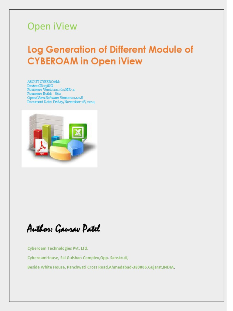 How to Generate Cyberoam UTM Log of Different Module for Open IView