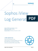 How to Generate Sophos UTM Logs of Different Module for Sohpos IView