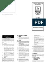 2016 Infor Flyer (Graduands)