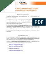Usos Julio 16 - Embragues y Frenos Electromagnéticos Industriales