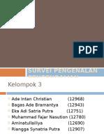 Survei Pengenalan Pengendalian Hama Oleh Petani