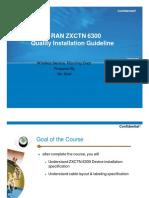 Ip Ran Installation Quality Guideline Rev.4