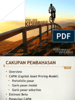 Portofolio Investasi Bab 6 Model Model Keseimbangan