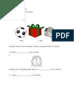 Ujian Matematik Darjah 4