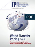 World Transfer Pricing 2016