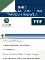 Bab 3 - Islam Dalam Tamadun Melayu