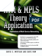 ATM and MPLS Theory and Appllication