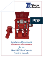 A t3 Super Choke Operational Manual