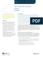 Vmw Nsx Palo Alto Networks Solution Brief