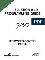 9750 Installer Guide