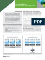VMware VSphere Storage Appliance Datasheet