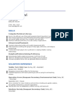planning 10 unit 4 - resume