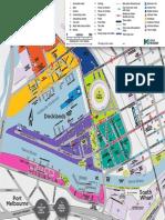 Docklands Visitor Map