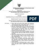 Permeneg PP&PA No 3 Thn 2010 - Penerapan 10 Langkah Mnju Kbrhsln Menyusui