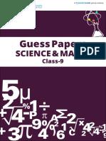 Meritnation Guess Paper Class 9