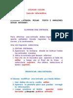 GUÍA DE TRABAJO 6º