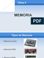 TEMA 4 - Memoria