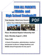Parent Session-revised Flier