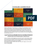 Significance of Islamic Calender in Islam