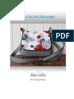 Lilac Mini Messenger