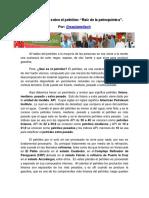 Generalidades Sobre El Petróleo Raíz de La Petroquímica. Por Saulameliach