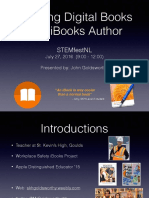 ibooks author slideshow stemfest july 2016