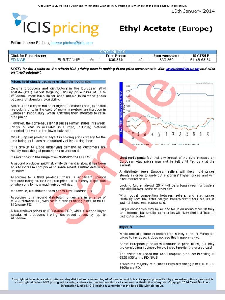 Chemicals Ethyl Acetate | Euro | Petroleum