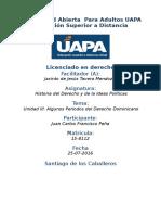 Tarea III Historia Del Derecho