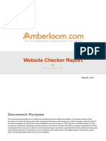 Amberloom Website Checker Report Current Sample