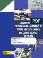 Policia Nacional Psicotecnico UD1