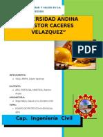 Informe de Equipo de Protecion