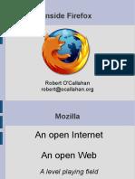 Inside Firefox - Robbert O'Callahan