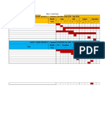 Gantt Chart - FYP As
