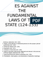 Crimes Against the Fundamental Law of the State
