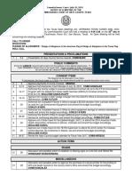 7-26-16 Agenda