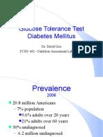 Diabetes Tes