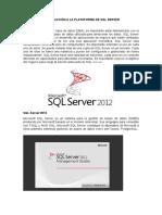 Introducción a La Plataforma de SQL Server
