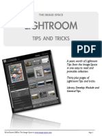 Image Space Lightroom Tips eBook