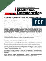 Posizione Sezione Provinciale Di Alessandria