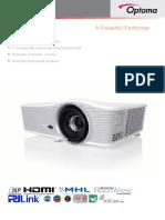 Optoma X515 ProScene DLP XGA Professional Projector