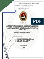 LA INFLUENCIA DE LOS DOCENTES Y ESTUDIANTES DE 5° GRADO DE SECUNDARIA ASI COMO LA IMPLEMENTACION DE LA JORANDA ESCOLAR COMPLETA EN EL DESARROLLO EDUCATIVO DE LA INSTITUCIÓN EDUCATIVA INDEPENDENCIA AMERICANA DEL DISTRITO DE PALLPATA-ESPINAR –CUSCO
