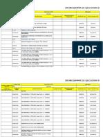 Modelo de Cronograma de Actividades de Una Obra